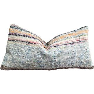 Moroccan Striped Kilim Pillow Cover