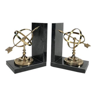 Armillary Sphere Bookends