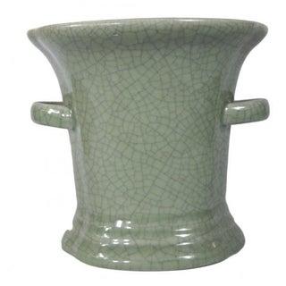 Chinese Green Celadon Planter