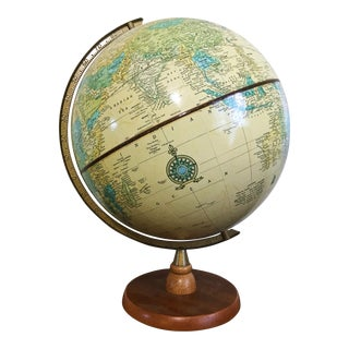 Vintage Cram's Imperial World Globe