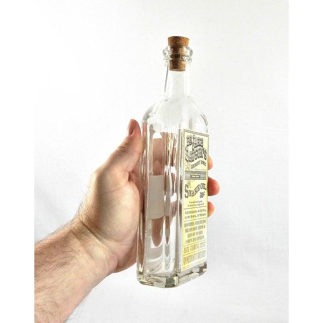 Vintage Snake Oil Remedy Bottle – Decorative Antique Remedy Bottle - Image 4 of 5