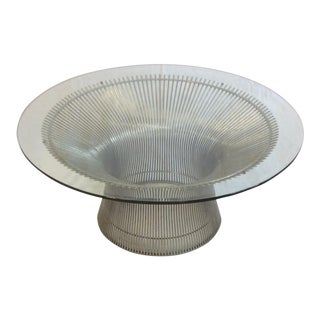 Platner Glass Coffee Table