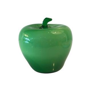 Decorative Glass Apple
