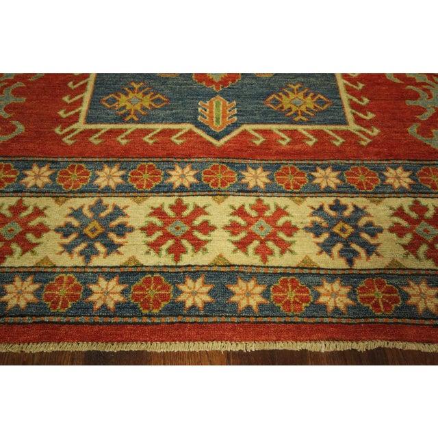Super Kazak Area Rug Red - 9' x 12' - Image 7 of 11