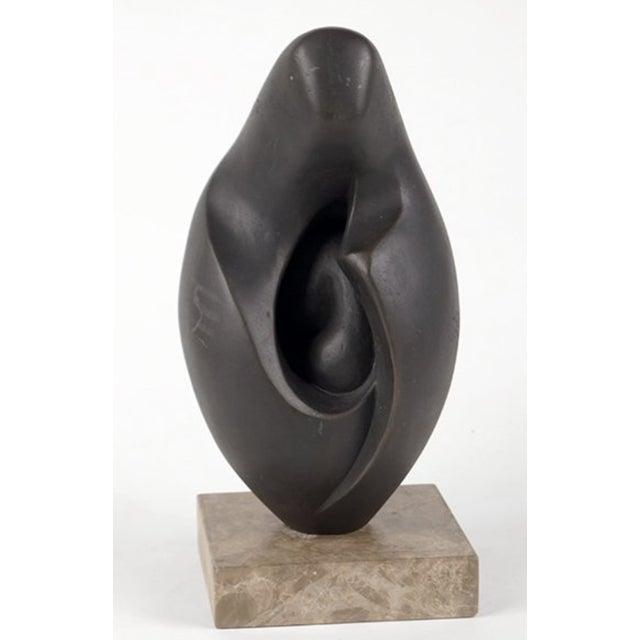 Image of Mid-Century Bronze Israeli Sculpture