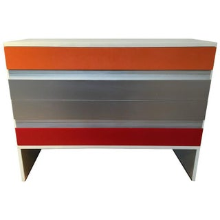 Italian Lacquered Four Drawer Chest by MIM
