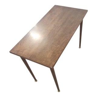 Mid-Century Modern Rectangular Side Table