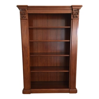 Fratelli Sommacal Italian Walnut Bookcase