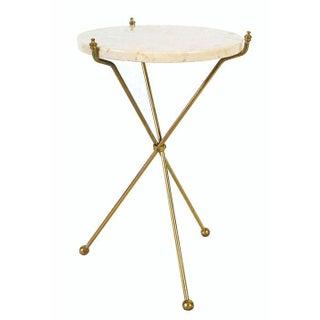 Italian Marble Tripod Table