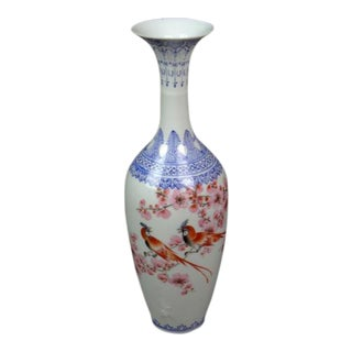 "Antique Chinese ""Eggshell"" Porcelain Vase"