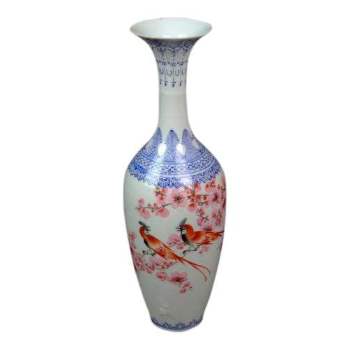 """Antique Chinese """"Eggshell"""" Porcelain Vase - Image 1 of 7"""