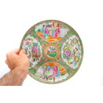 Image of 19th C. Chinese Cantonese Famille Plates - Set/4