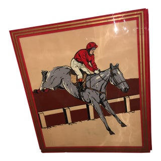 Old English Bakelite Horse Race Betting Sign