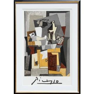 "Pablo Picasso ""Nature Morte a La Porte Et a La Clef"" Lithograph"