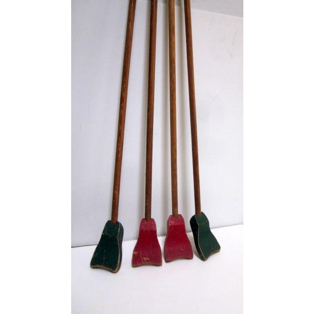 1940s Folk Art Shuffleboard Sticks - Image 5 of 8
