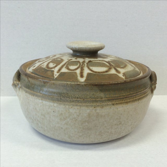 Mid-Century Studio Pottery Bowl and Lid - Image 2 of 11