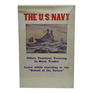 C. 1930 United States Navy Recruiting Poster
