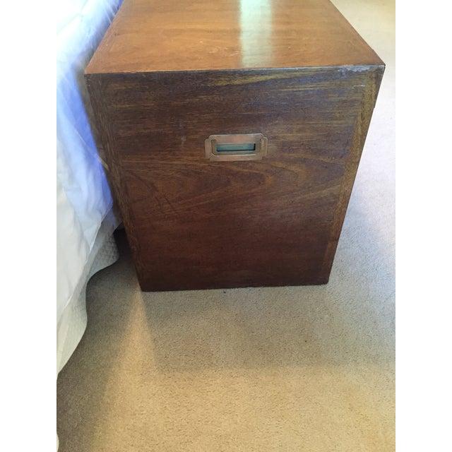 Drexel Wood Campaign Dresser - Image 4 of 7