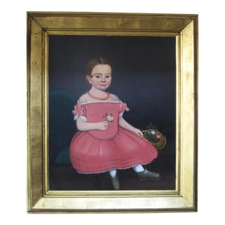 Portrait of a Girl in a Pink Dress - William Kennedy