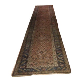 "Antique Runner Persian Carpet - 3'6""x18'"