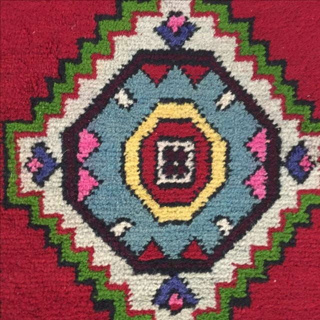 "Antique Anatolian Turkish Rug - 1'6"" X 3' - Image 6 of 7"