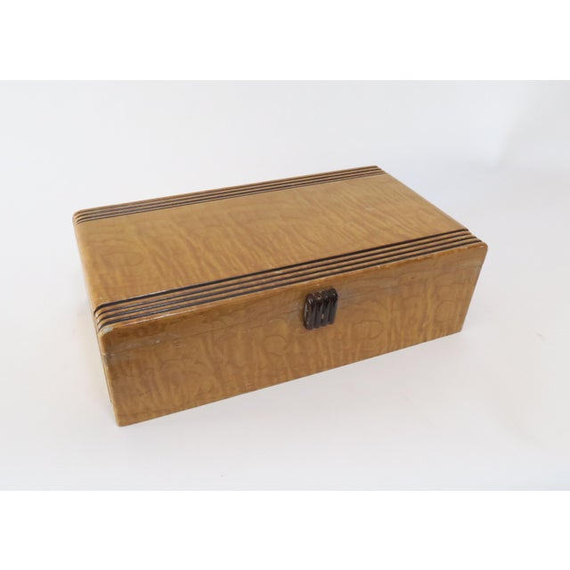 Vintage Decorative Wood Box - Image 4 of 7