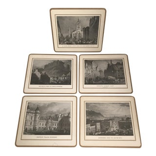 English Castles & Landscapes Placemats - Set of 5