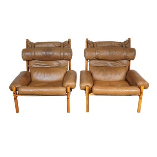 Arne Norell Inca Chairs - A Pair