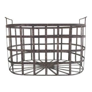 Vintage Zinc Basket
