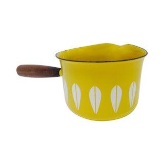 Yellow Cathrineholm Lotus Saucier Pan