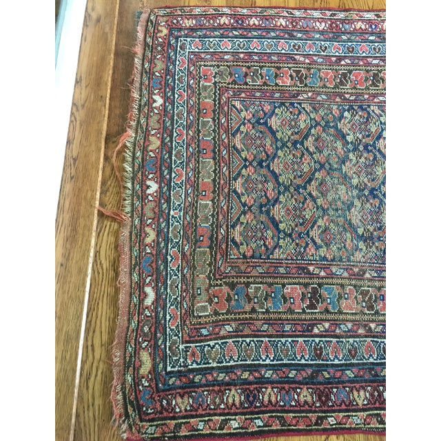 "Vintage Traditional Carpet Runner - 4'2"" x 10'4"" - Image 6 of 7"