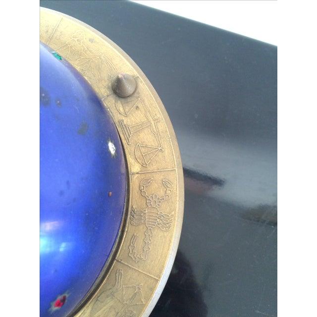 Blue Zodiac Globe Pop-Up Cigarette Holder - Image 8 of 8