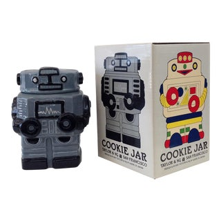 Taylor & Ng San Francisco Robot Cookie Jar