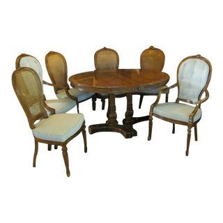 Drexel Heritage Solid Mahogany Dining Set - S/11