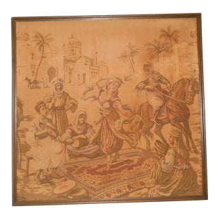 Antique Orientalist Tapestry