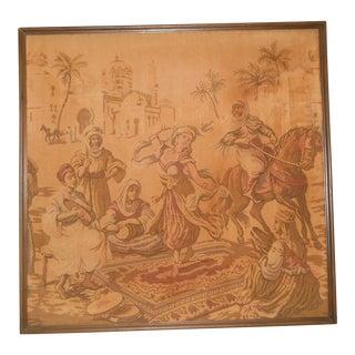 Antique Orientalist Tapestry