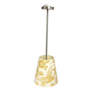 Thomas Paul Yellow & Cream Pendant