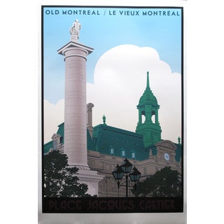 Steve Thomas Old Montreal Travel Poster