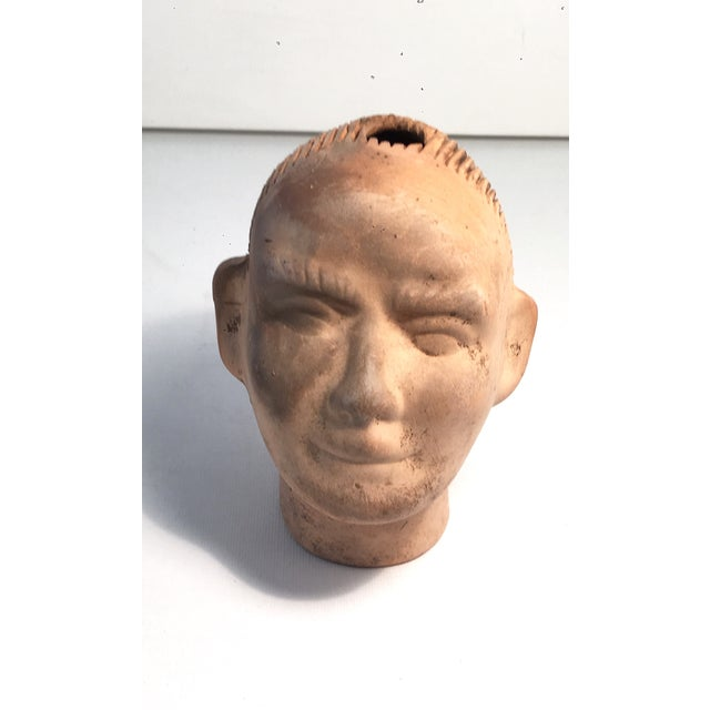 Vintage 1950s Growing Pottery Head - Image 2 of 5