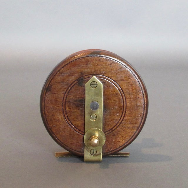 Vintage Center Pin Nottingham Style Fishing Reel - Image 5 of 8