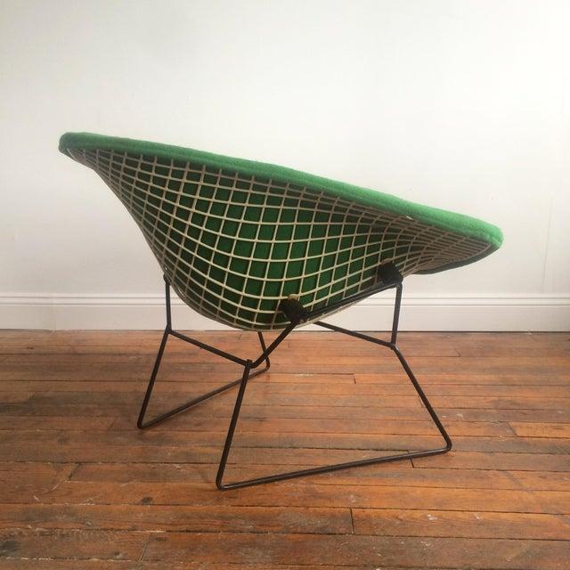 knoll large bertoia diamond chair chairish. Black Bedroom Furniture Sets. Home Design Ideas