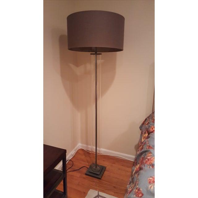 restoration hardware french column floor lamp chairish. Black Bedroom Furniture Sets. Home Design Ideas