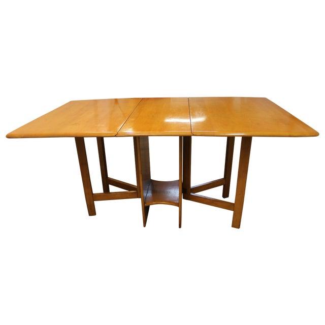mid century modern heywood wakefield dining table chairish