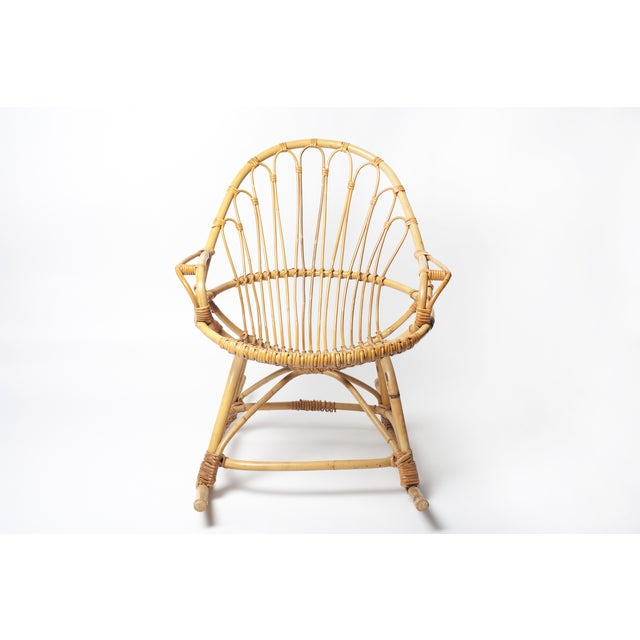 Child's Rattan Rocking Chair - Image 3 of 4