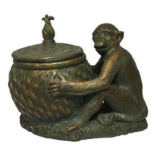Bronze Monkey Container