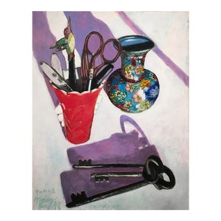 """Tools"" Original Still Life Painting"
