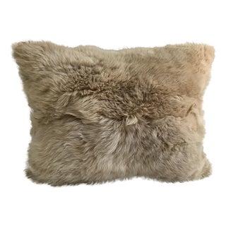 Peruvian Baby Alpaca Fur Pillow