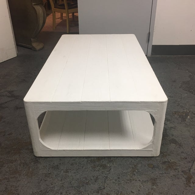 Dovetail White Shabby Chic Coffee Table - Image 5 of 9