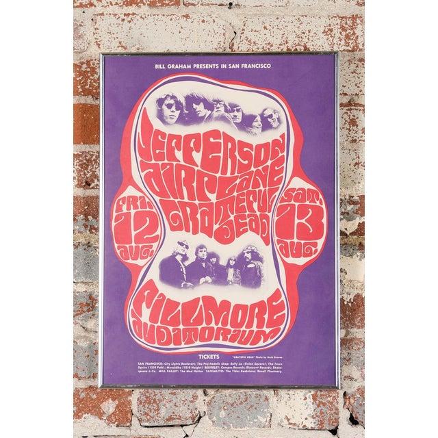 Vintage Grateful Dead in San Francisco Concert Poster - Image 2 of 7