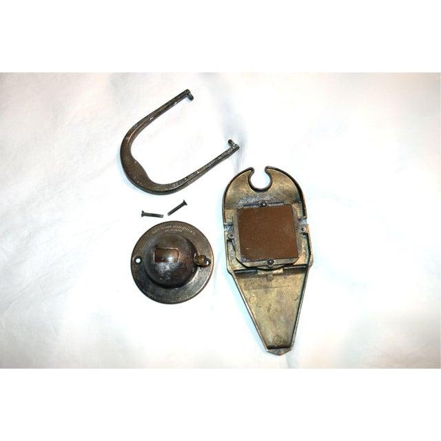 1930s peephole knocker chairish - Door knockers with peepholes ...